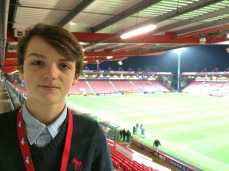 Jamie at DC after Norwich 2014/15