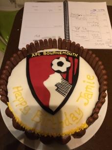 Jamie's 14th Birthday Cake