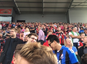 A healthy 1,600 strong AFCB following